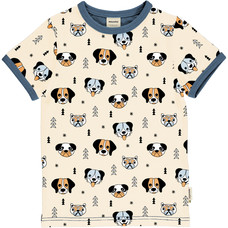Meyadey (Maxomorra) shirt ss Happy Dogs