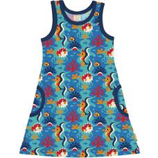Maxomorra summer dress Coral Reef