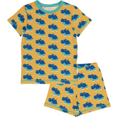 Maxomorra Hippo pajama set