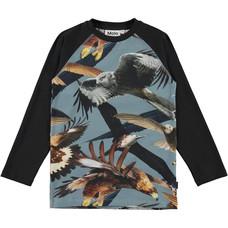 Molo shirt ls Birds zwart