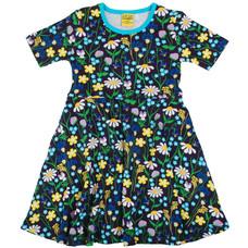 Duns Sweden jurk Midsummer blue