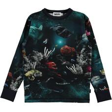 Molo shirt Deep Sea ls