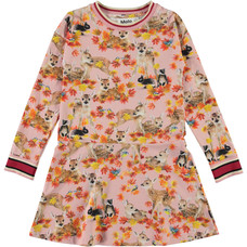 Molo dress Autumn Fawns