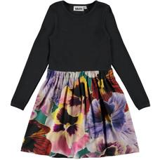 Molo jurk Velvet Floral