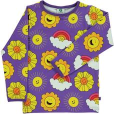 Smafolk shirt Sun purple heart
