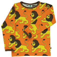 Smafolk shirt Lion orange