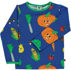 Smafolk shirt Vegetable blue lolite