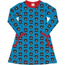 Maxomorra jurk Raccoon