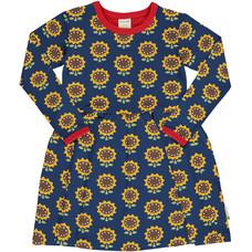 Maxomorra jurk spin Sunflower