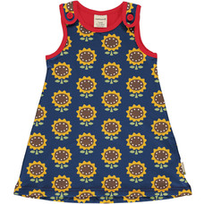 Maxomorra play dress Sunflower