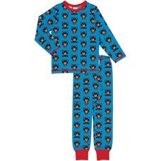Maxomorra pajama set Raccoon