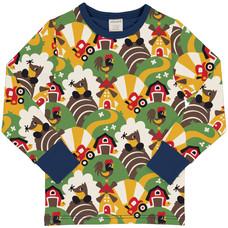 Maxomorra shirt ls Farm