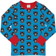 Maxomorra shirt ls Raccoon