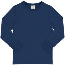 Maxomorra shirt ls navy