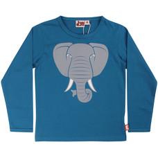 DYR shirt Elephant dusty blue