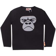 DYR shirt ls Gorilla black