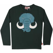 DYR shirt ls Mammut blackgreen