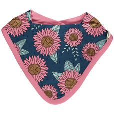 Meyadey (Maxomorra) slab/bib dribble Sunflower Dreams