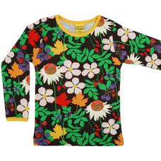 Duns Sweden shirt Autumn Flowers