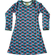 Duns Sweden dress Radish azure