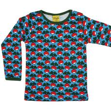Duns Sweden shirt ls Radish azur