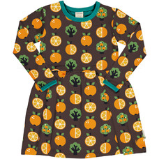 Maxomorra jurk spin Orange