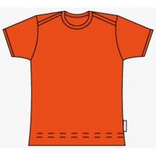 Snoozy Scandinavia shirt Orange ss