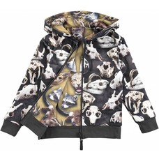 Molo Vest Danger Animal Heads (reversible)