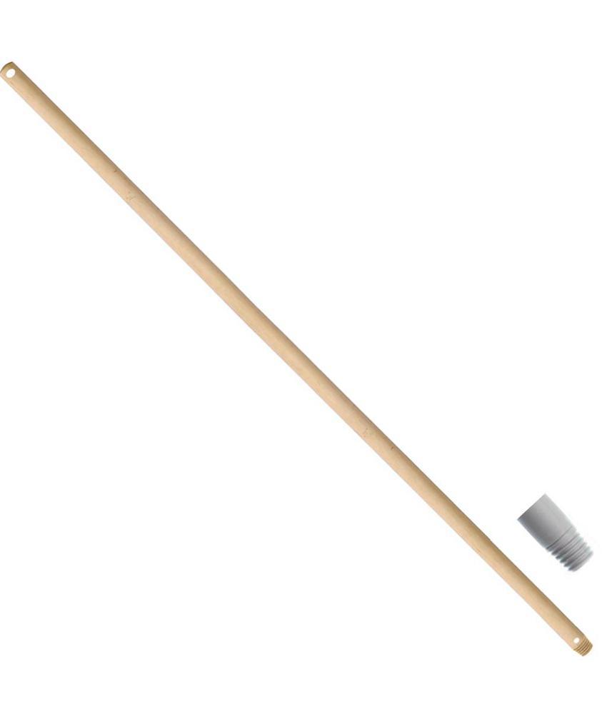 Borstelsteel 150 cm. Ø 23 mm. met schroefdraad