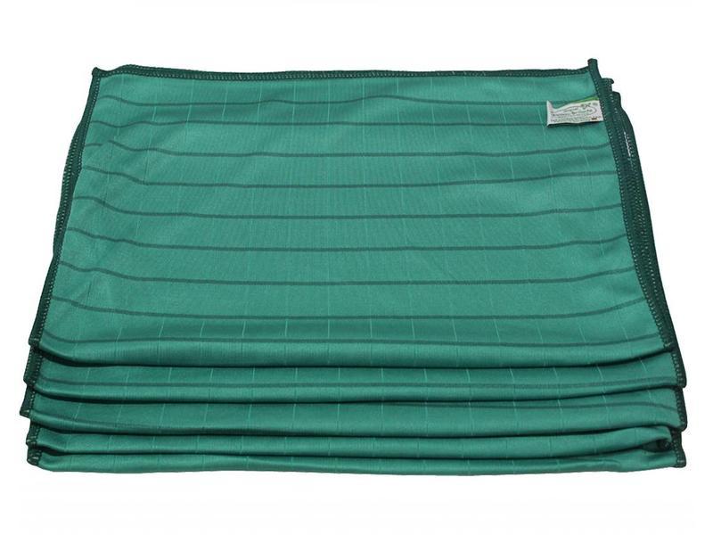 "Bamboe Droogdoek 40 x 50 cm. Groen ""Glashelder"""