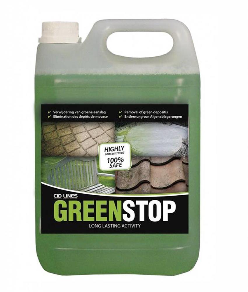 """Greenstop 5 liter """"groene aanslagreiniger """""""