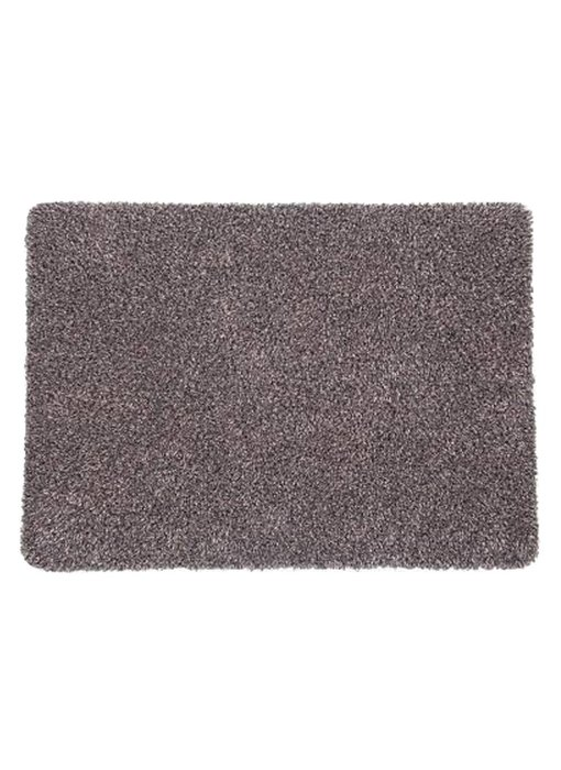 Wasbare droogloopmat Taupe 45 x 65 cm.