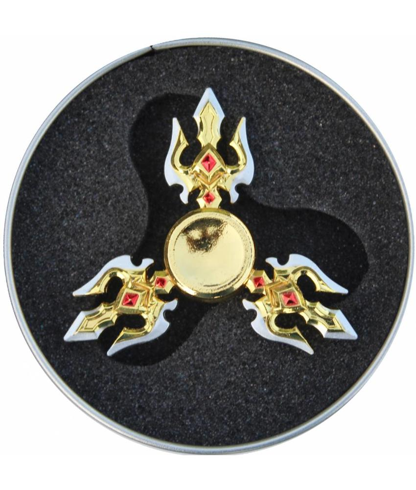 Hand spinner Exclusief Drietand Rood