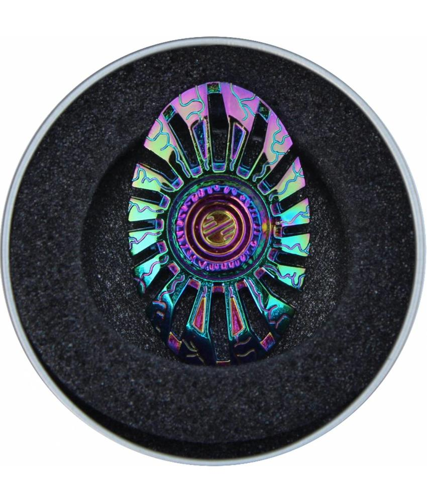 Hand spinner Exclusief Broche Rainbow