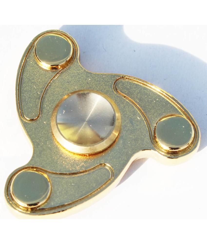 Metalen hand spinner Blaze Goud
