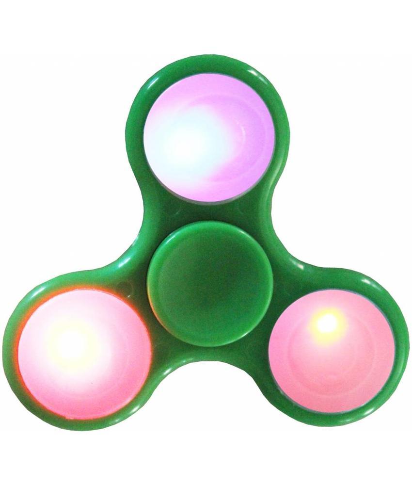 Hand spinner Led - licht Groen