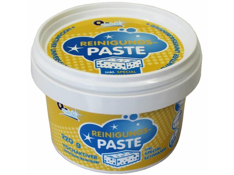 O-Quick Reinigingspasta met spons 220 g.