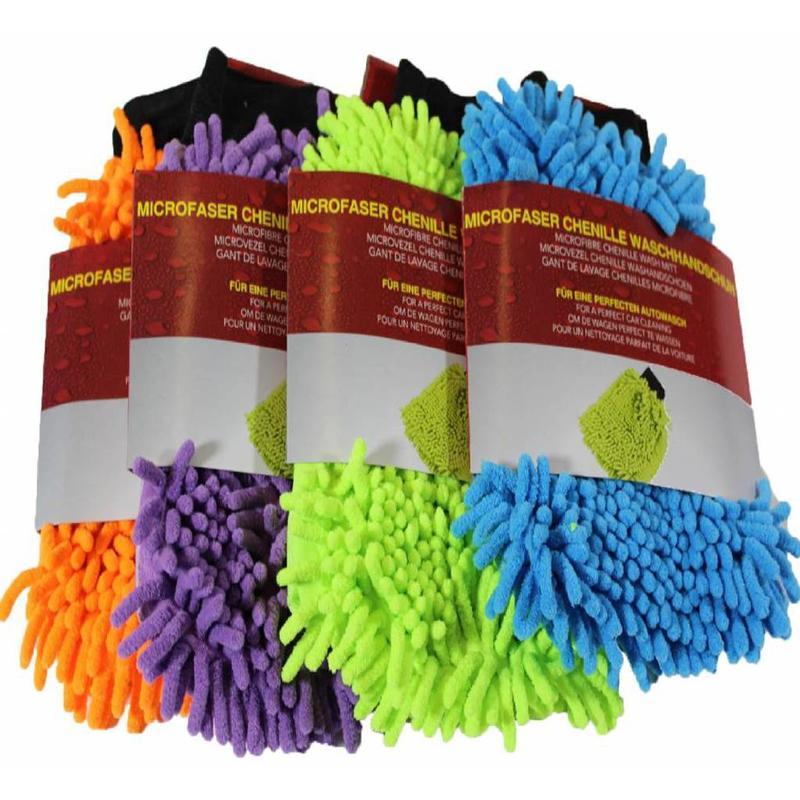Microvezel handschoen Fluffy chenille