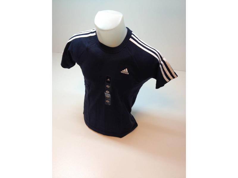 Adidas T-shirt 3 streep schouder