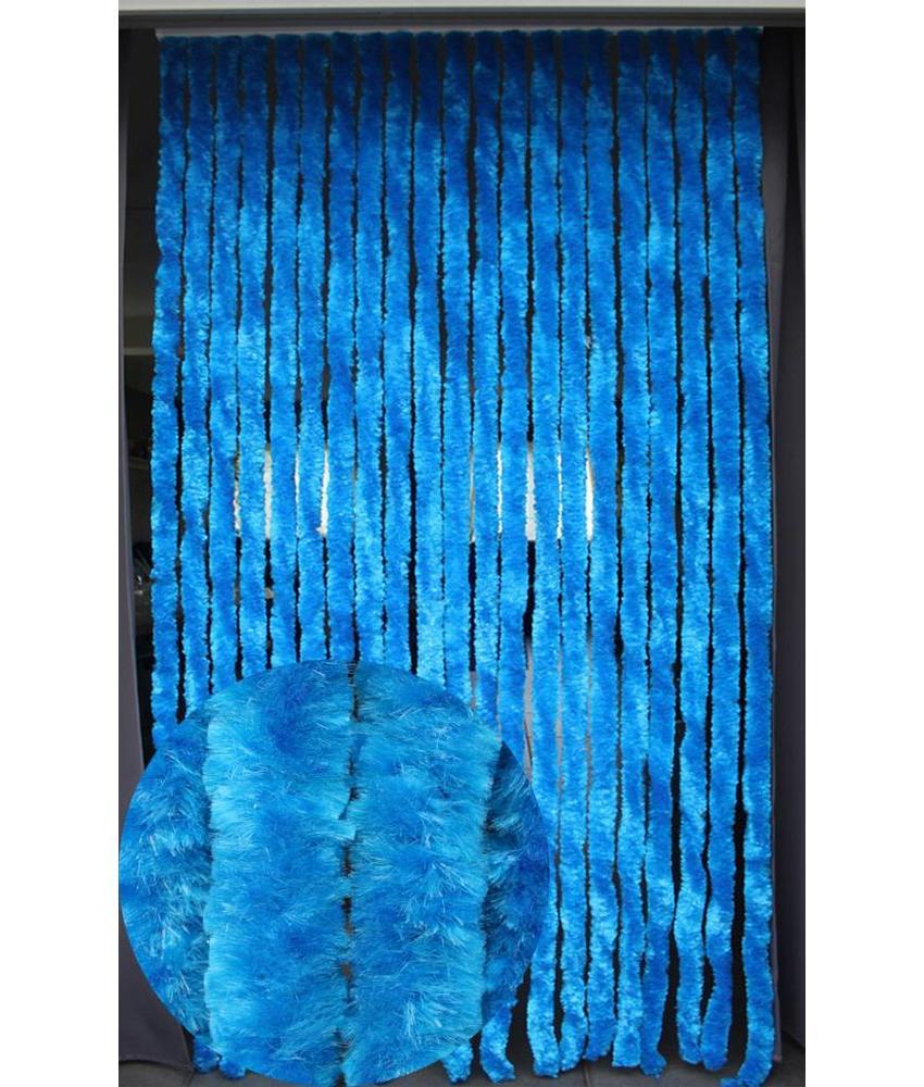 Vliegengordijn kattenstaart 90x220 cm. Azurro Blauw