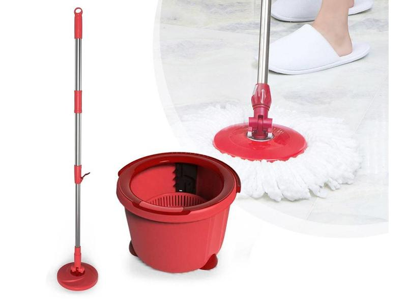 Aqua Laser Spinner Mop Circular - Rood