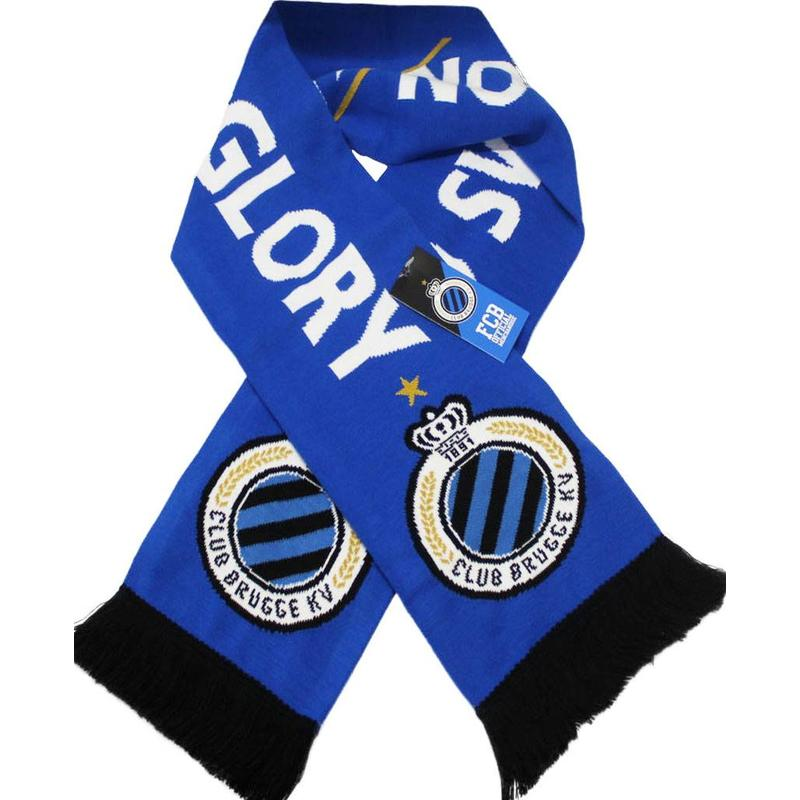 "Supporterssjaal Club Brugge ""No Sweat No Glory"""