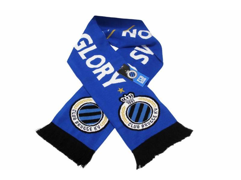 "Supporterssjaal Club Brugge ""No Sweat No Glory"""