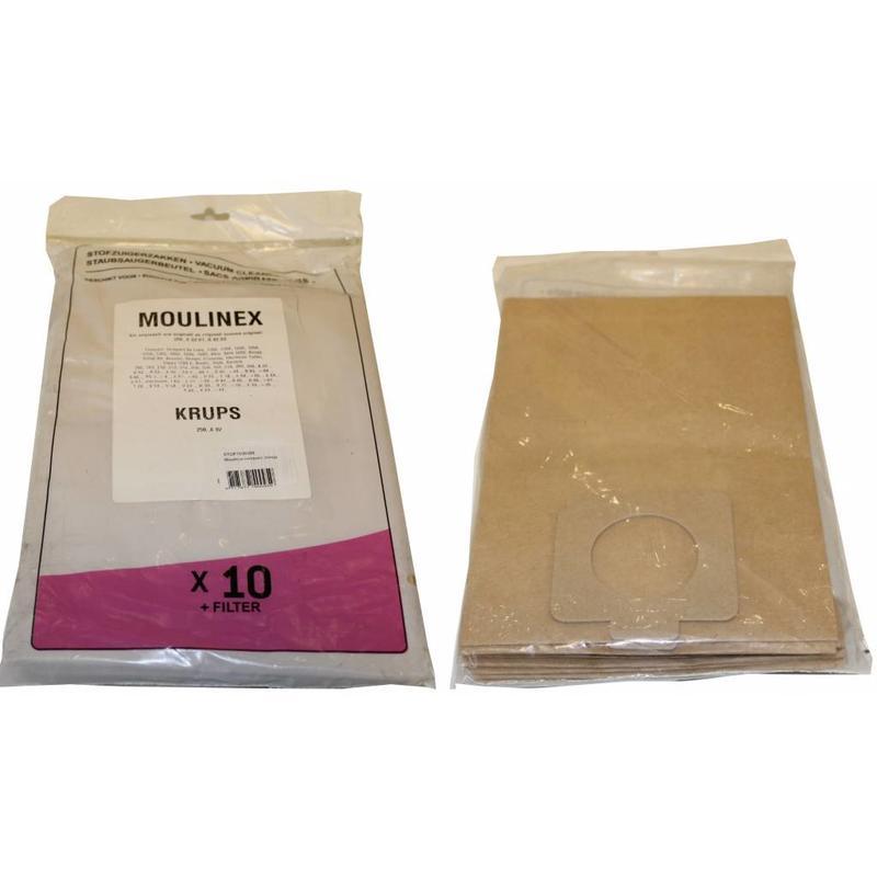 MOULINEX Compact/ Boogy Stofzuigerzakken