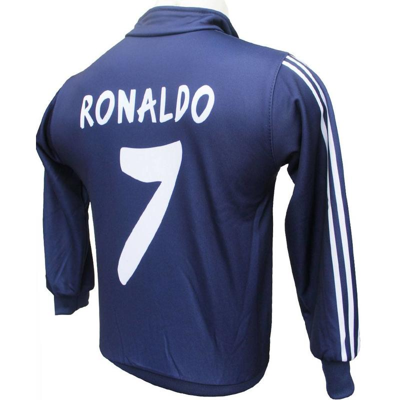Madrid Trainingsvest Ronaldo Thuis