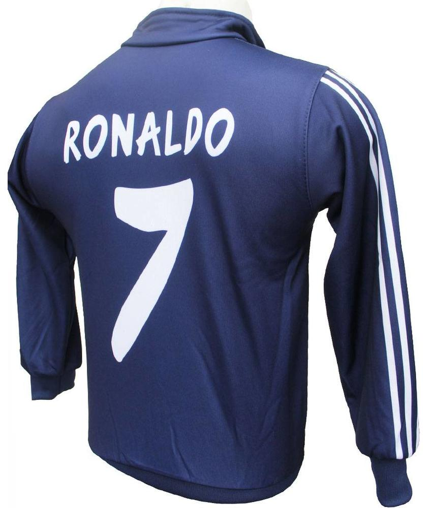 Madrid Trainingsvest Ronaldo Thuis