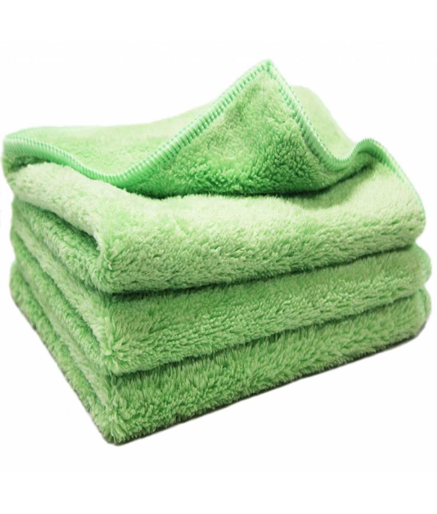 Nano Microvezeldoeken groen 3 st.