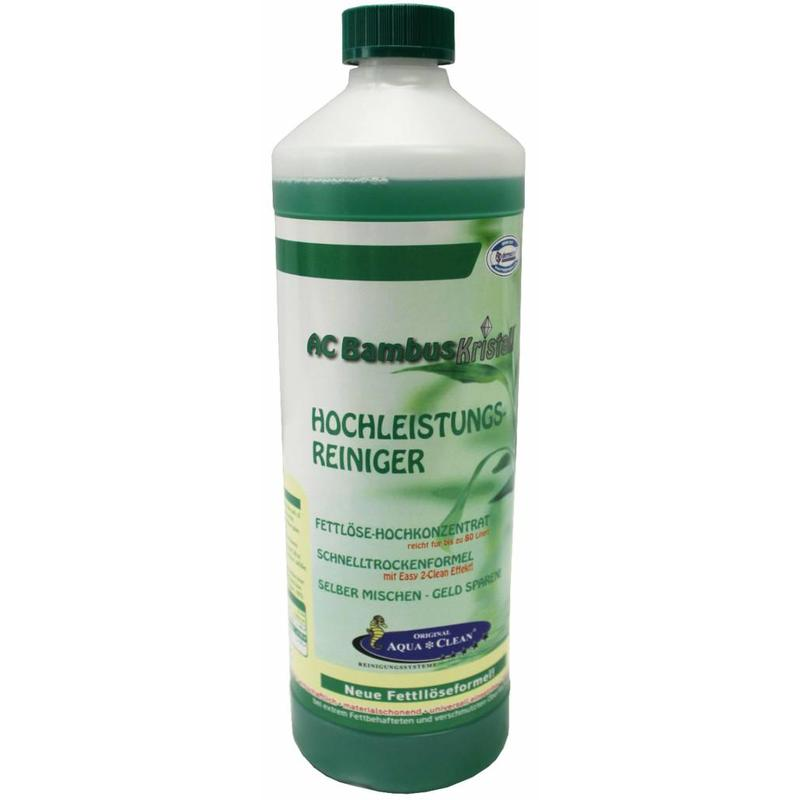 Bambus Kristall high-performance cleaner 1 L.