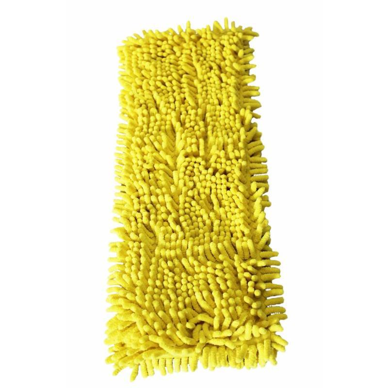 Vloermop Doek Fluffy Microvezel 45 cm. Geel