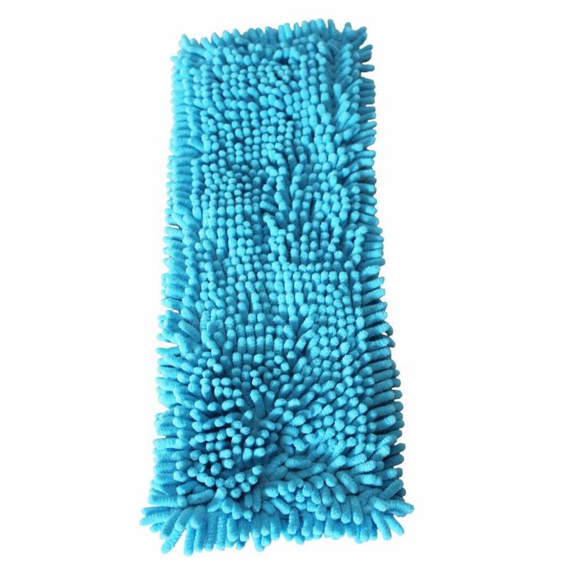 Vloermop Doek Fluffy Microvezel 45 cm. Blauw